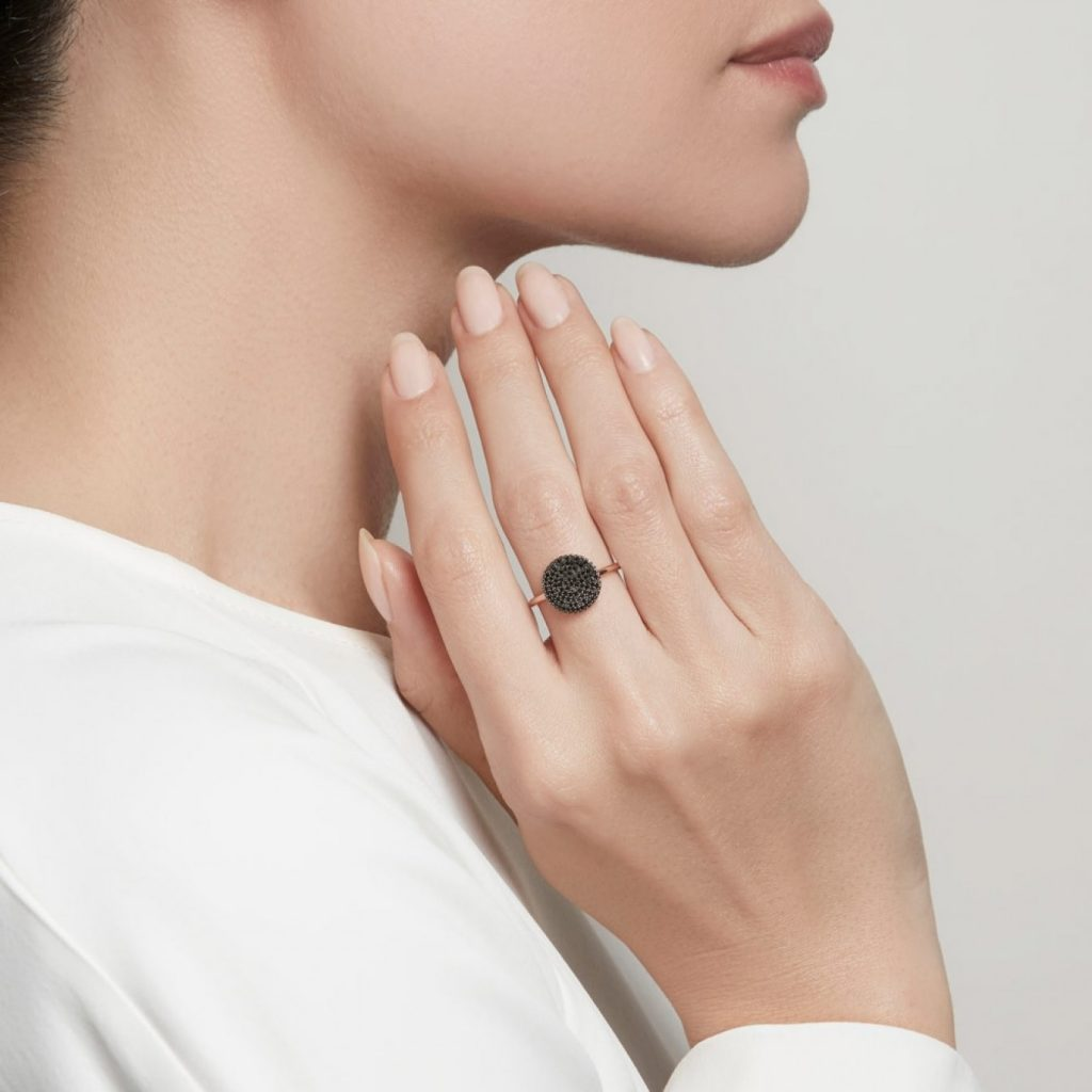 All About Black Diamond Ring
