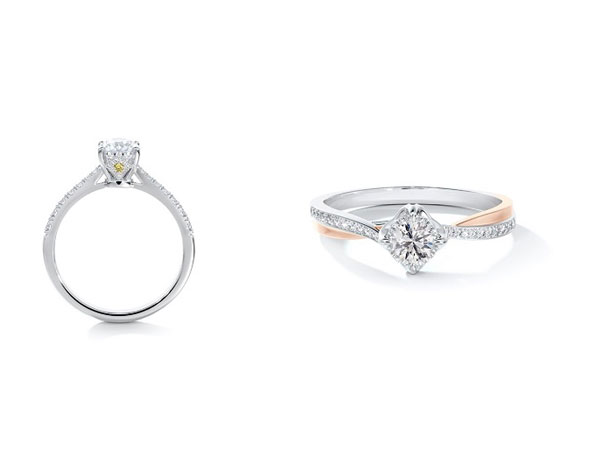 A COMMITMENT: The Solitaire Rings!