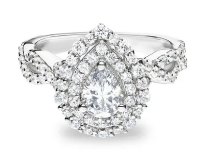 palmer pear shaped Engagement Ring